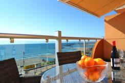 Stor solrig penthouse i Fuengirola.