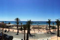 Lækker lejlighed på strandpromenaden
