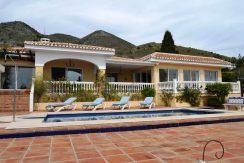 Fantastic villa with panoramic sea views
