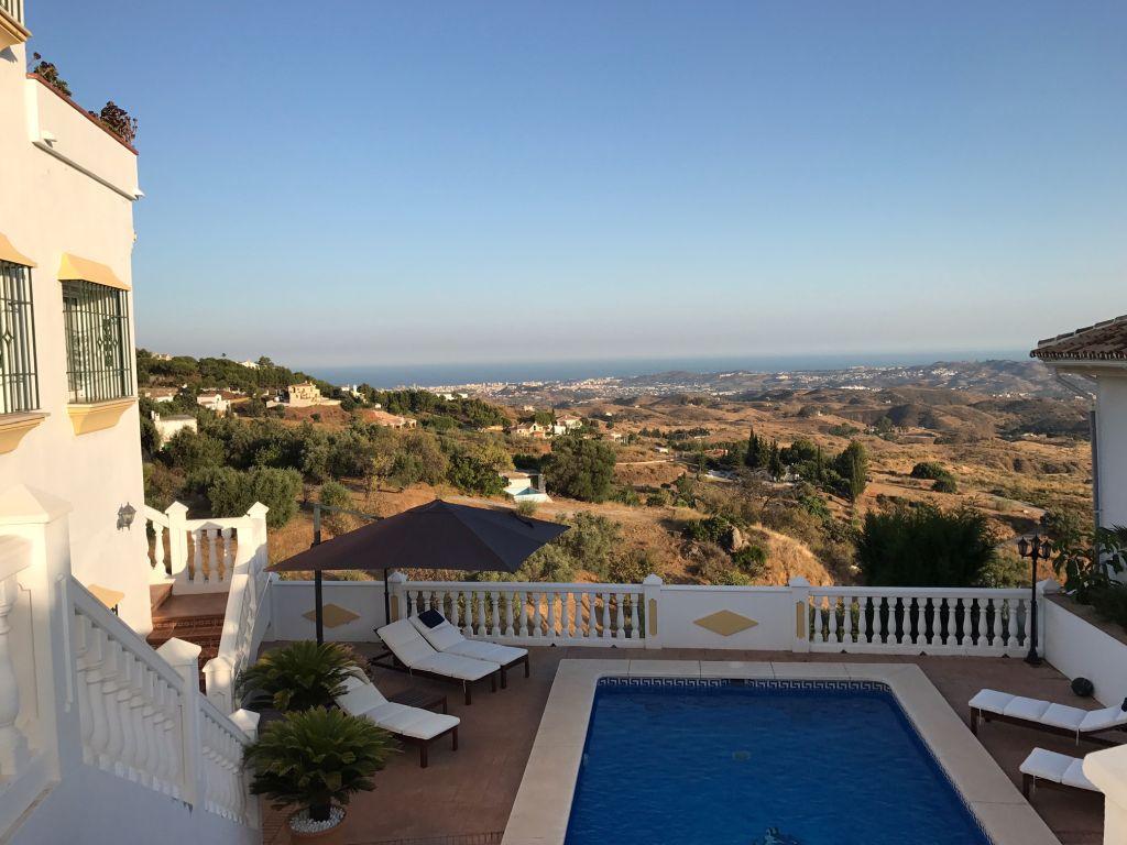 Fantastisk villa med panorama udsigt